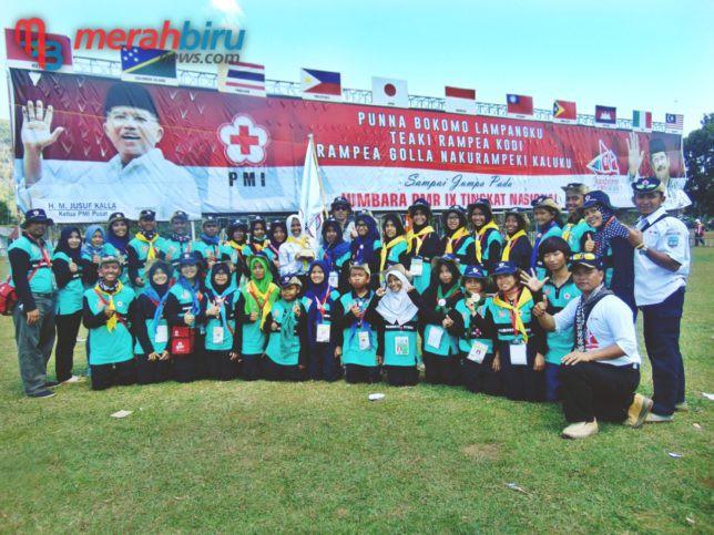 Kontingen PMI Kaltara Juara Pertama Jumbara Tingkat Nasional di Pangkep