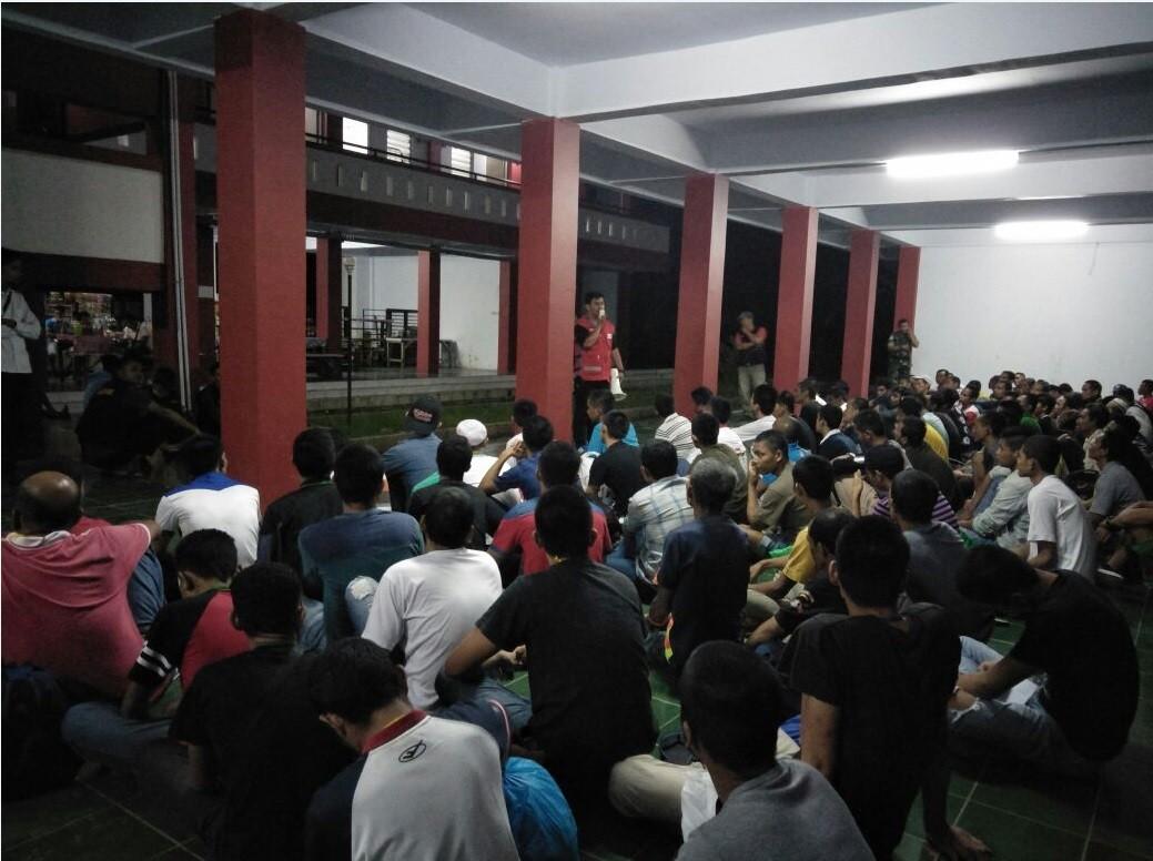 PMI Kabupaten Nunukan Melakukan Layanan RFL untuk TKI Deportasi Dari Malaysia