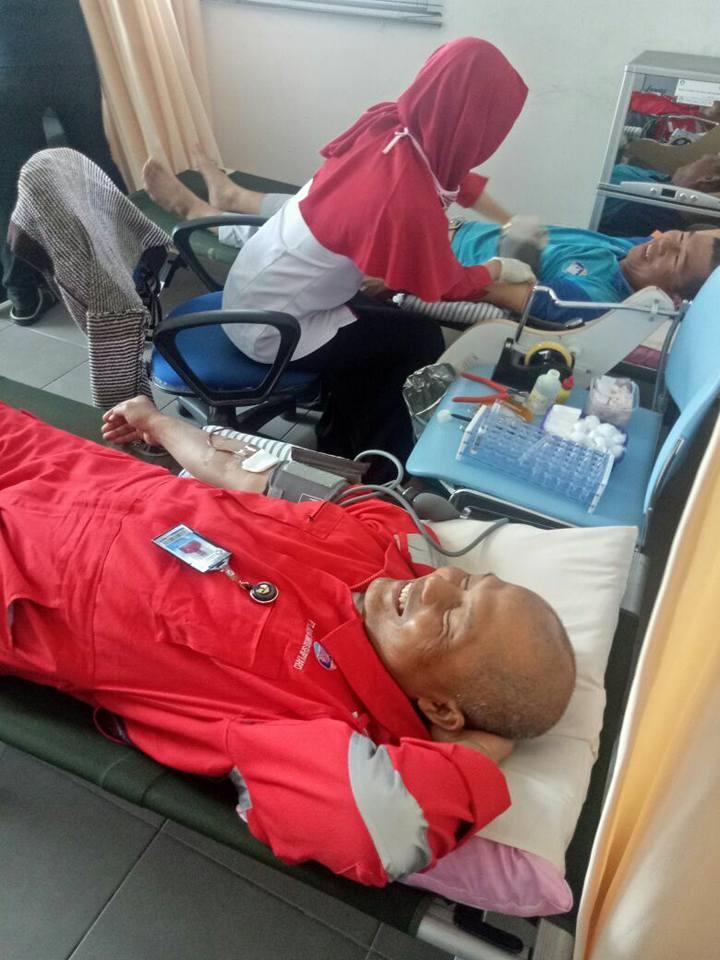 Bertempat di PT.Kayan Marine Shipyard Unit Transfusi Darah PMI Kota Tarakan mengadakan Kegiatan Dono - (Ada 0 foto)