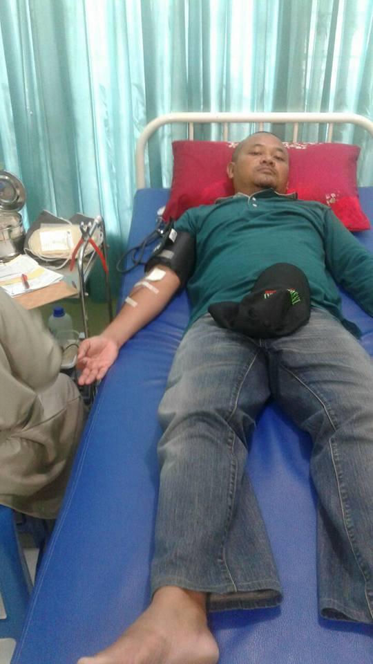 kegiatan donor darah Paguyuban joglosemar di PMI kab. Nunukan - (Ada 0 foto)