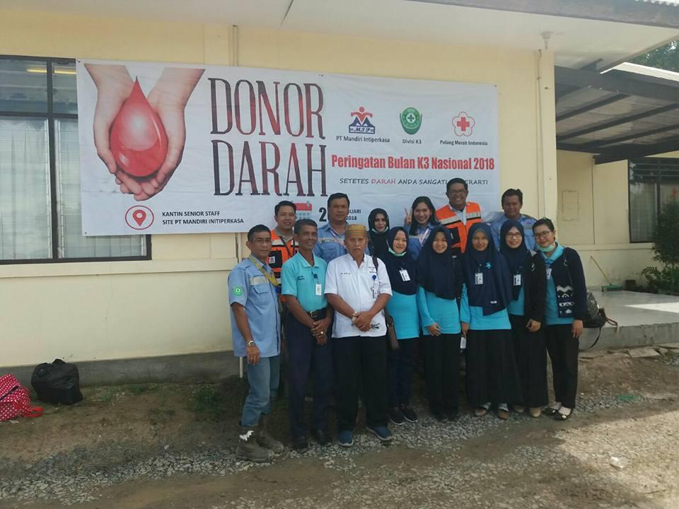 Bertempat di PT. Mandiri Intiperkasa Site Sesayap Kab.Tana Tidung Unit Transfusi Darah PMI Kota Tara - (Ada 0 foto)