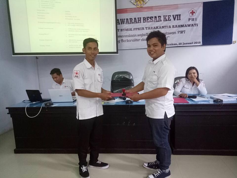 Selamat atas terpilihnya SARIDIN Sebagai Ketua UKM KSR PMI Unit STMIK PPKIA Tarakan  - (Ada 0 foto)
