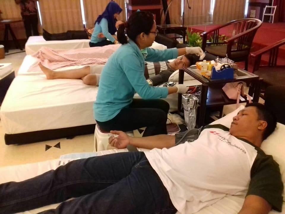 kegiatan donor darah - (Ada 0 foto)