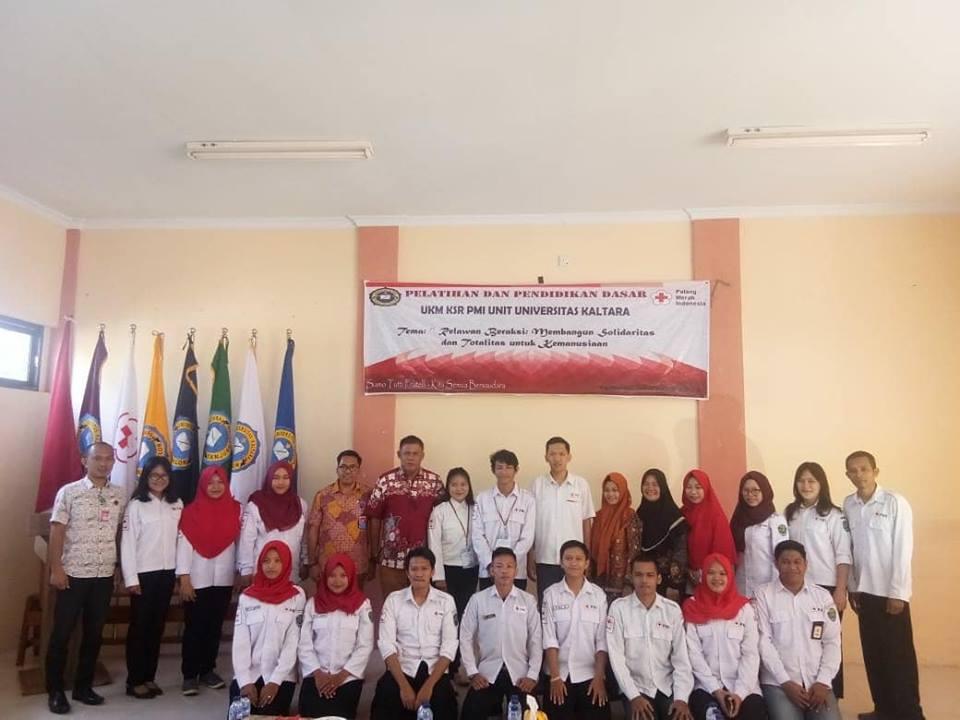 UKM KSR PMI universitas Kaltara melaksanakan kegiatan Pelatihan dan Pendidikan Dasar yg ke I - (Ada 0 foto)