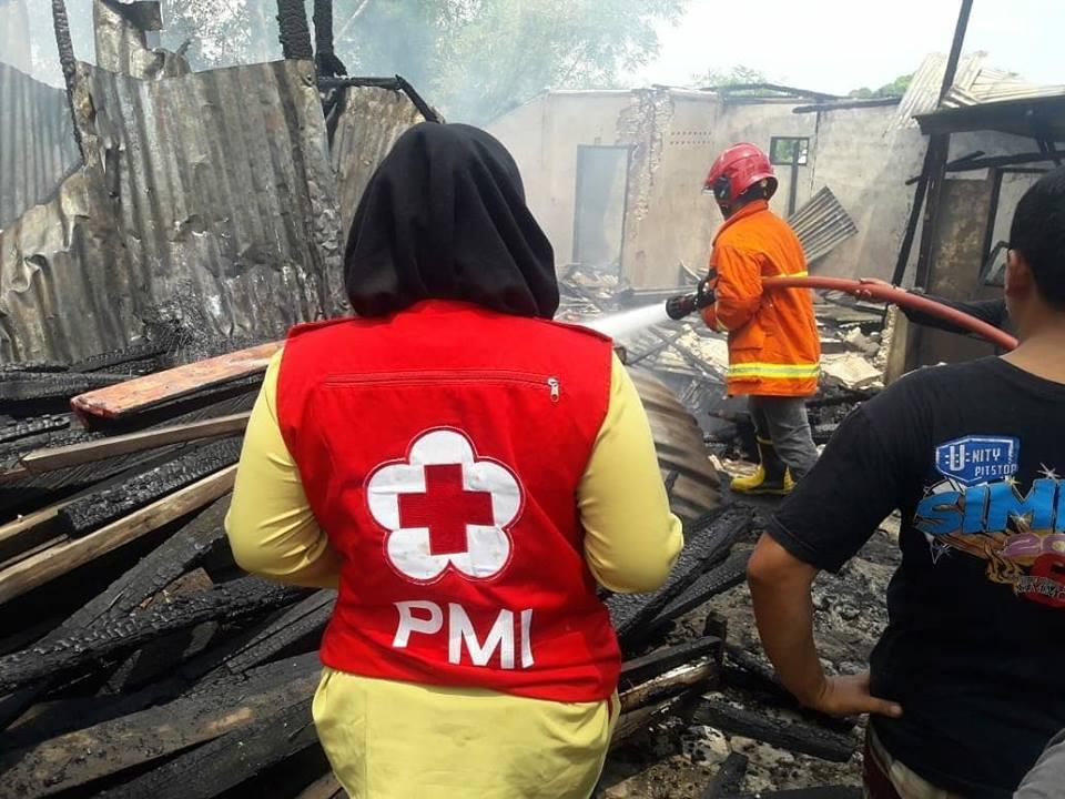 Giat PMI Kota Tarakan 07 Agustus 2018 Pukul 10.55 Wita menerima informasi terjadinya kebakaran rumah - (Ada 0 foto)