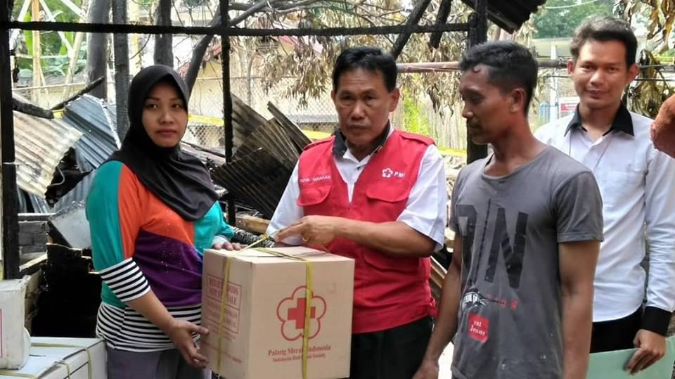 Giat PMI Kota Tarakan 08 Agustus 2018 pukul 15.10, Melakukan Distribusi Bantuan Kepada Korban Kebaka - (Ada 0 foto)