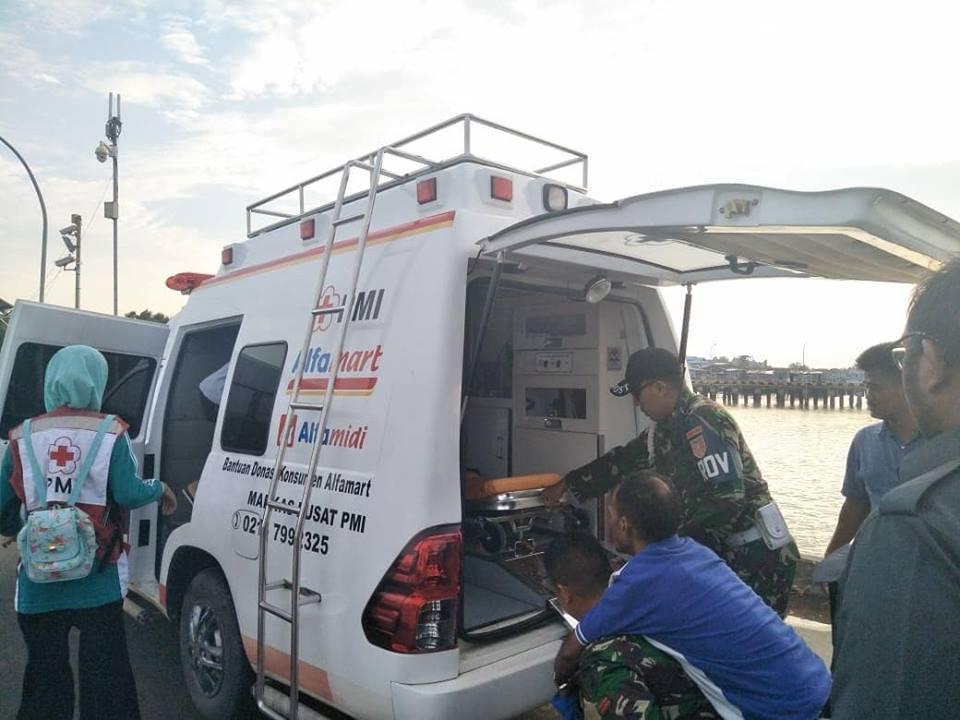 PMI Kabupaten Nunukan melakukan pendampingan dan membantu merujuk ke RSUD Nunukan WN - (Ada 0 foto)