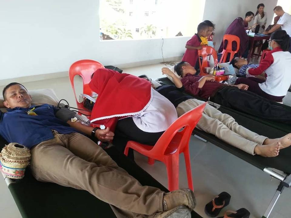 Unit Transfusi Darah PMI Kota Tarakan mengadakan Kegiatan donor darah - (Ada 0 foto)