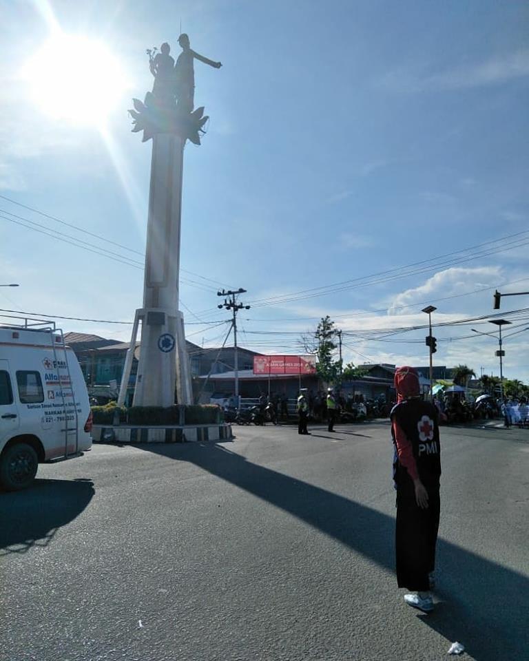 PMI Kab. Nunukan melakukan Layanan Pertolongan Pertama dan Ambulance pada acara Pawai 1 Muharram 144 - (Ada 0 foto)