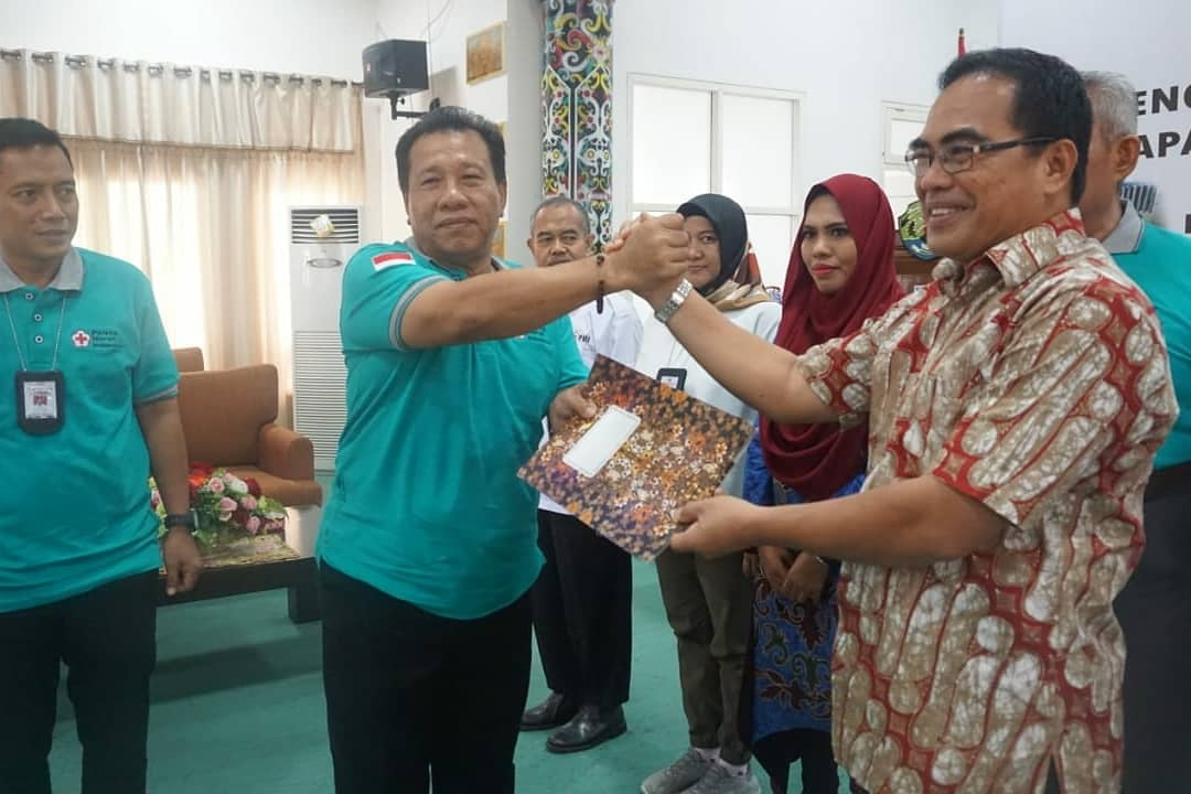 PMI Provinsi Kalimantan Utara mengadakan acara Penggalangan Dana untuk bencana Indonesia  - (Ada 0 foto)