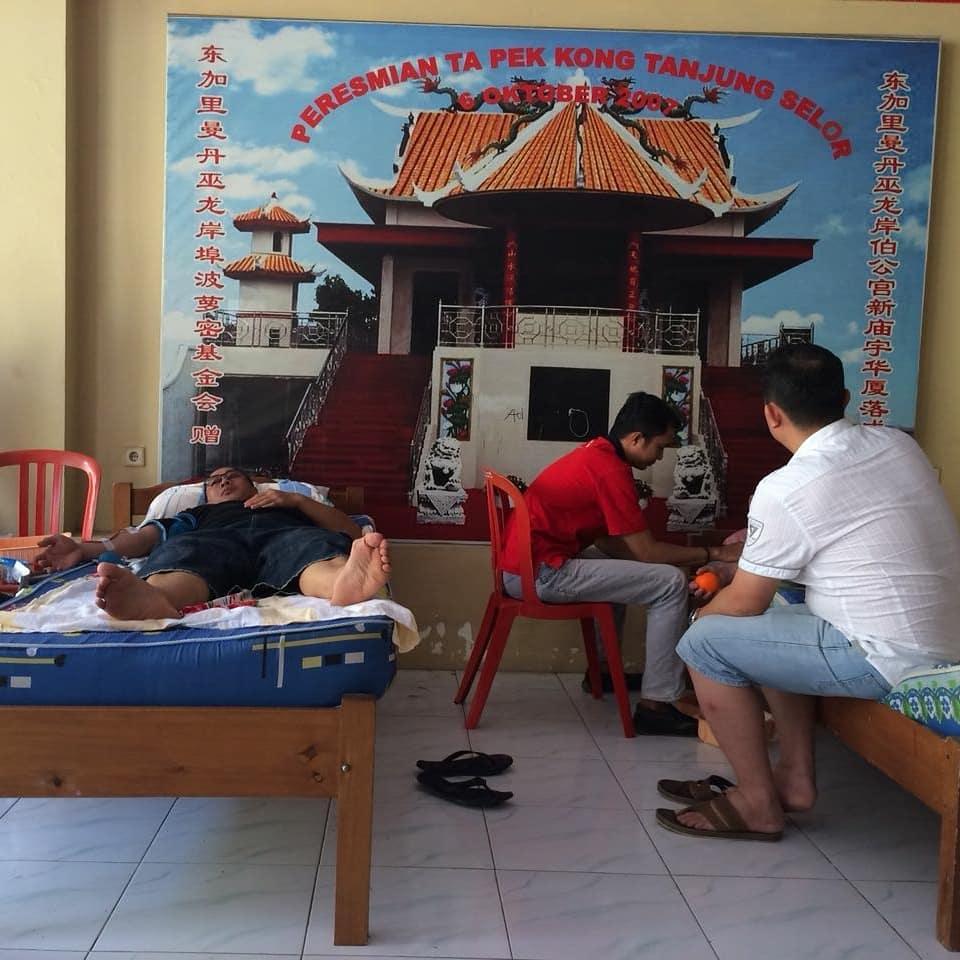 Bertempat di Klenteng Tanjung Selor Unit Transfusi Darah PMI Kab. Bulungan mengadakan Kegiatan Donor - (Ada 0 foto)